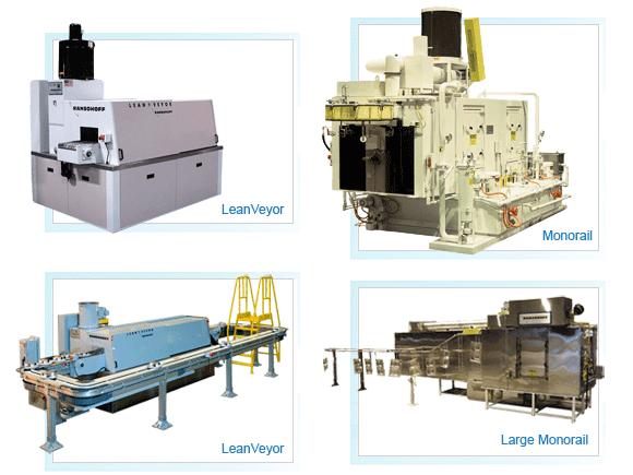 LeanVeyor Conveyor Parts Washers