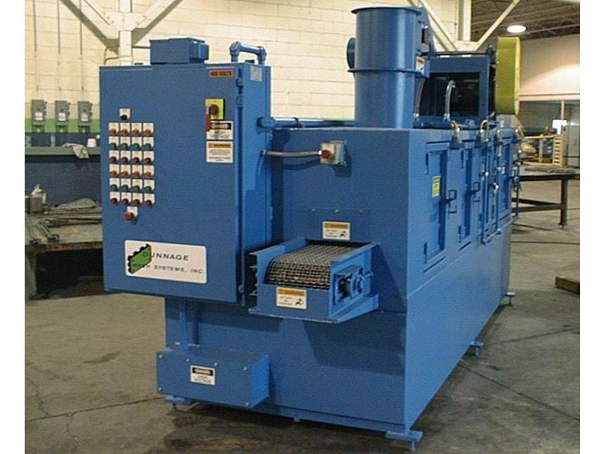 Conveyor Automotive Parts Washer