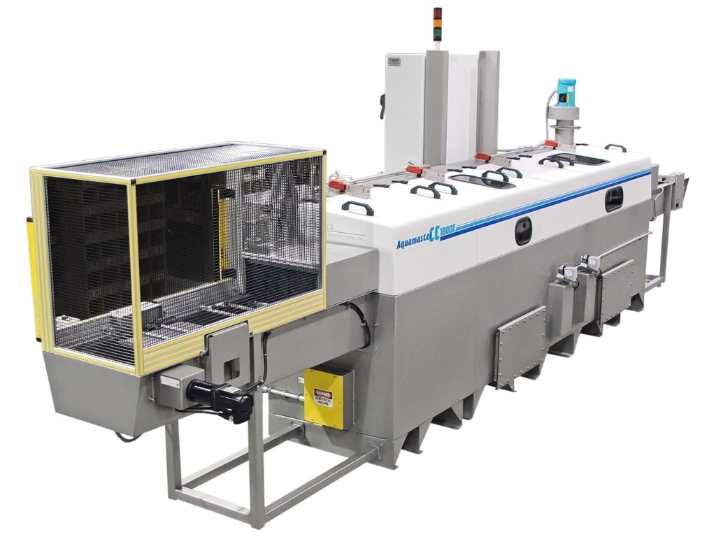 Indexing Industrial Washer