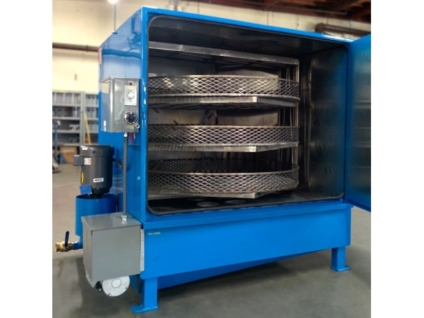 Large Automatic Metal Parts Washer with Three Turntables