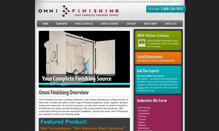 Omni Finishing Systems, Inc.