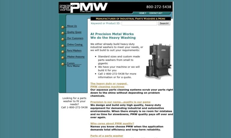 Precision Metal Works